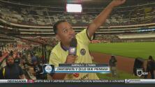 Destápate: Los aficionados del América y Tigres se destaparon al final del partido