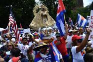 Cubanos en el exilio marchan hoy hasta la embajada de Cuba en Washington