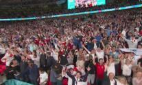 ¡Se escuchó el rugido de Wembley! Inglaterra festeja boleto a la Final