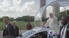 Holguín recibió la bendición del Papa Francisco
