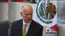 Jerry Brown se reunió con el Presidente de México