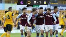 Aston Villa echa a perder homenaje de Raúl Jiménez