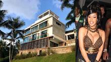 Así es por dentro la lujosa mansión de 1.5 millones de dólares que Offset le regaló a Cardi B