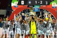 No se van con las manos vacías... Juventus gana la Coppa Italia