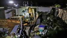 Más de 45 millones de personas han sido afectadas por los más de 20 tornados en el Medio Oeste de EEUU