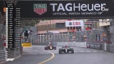 Lewis no se asustó ante Verstappen y volvió a ver la bandera a cuadros en Mónaco