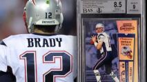 Tarjeta de novato de Brady establece récord millonario
