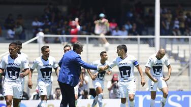 """Michel González: """"Ganar 3 puntos, aunque sea sufriendo es una alegría"""""""