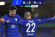 Chelsea sentenció a un Atleti inoperante y clasificó a Cuartos de Champions