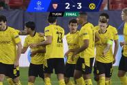 Así fue la Ida: Borussia Dortmund tomó gran ventaja en Sevilla