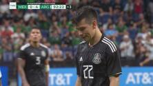 México por fin crea peligro ¡al minuto 92! Chucky intentó el descuento con potente disparo