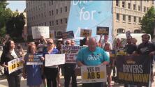 Cientos de conductores y Lyft alzan sus voces para garantizar sus derechos laborales