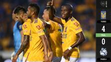 Tigres 4-0 Puebla – GOLES – COPA MX – OCTAVOS DE FINAL