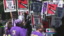 Piden salarios justos para trabajadores