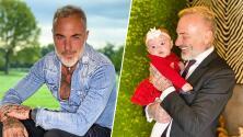 La hija de Gianluca Vacchi necesitó cirugía al poco tiempo de nacida: ésta es su historia