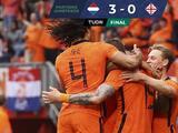 Holanda da un golpe de autoridad y golea a Georgia rumbo a la Euro 2020