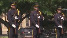Así fue la conmemoración por el quinto aniversario de la muerte de cinco oficiales en una emboscada