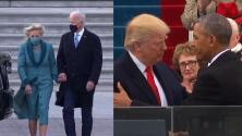 Trump vs Biden: las principales diferencias entre sus ceremonias de inauguración