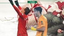 'Chicharito' y Raúl Jiménez brillaron en el Boxing Day