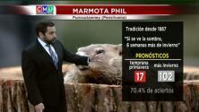 El tiempo: la marmota Phil