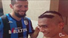Memorias de un debut: Orbelín Pineda recordó la vez que lo raparon en el vestidor de Querétaro