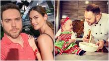 Acompañada de baby Megan, Michelle Galván envía amorosa felicitación a su esposo por el Día del Chef