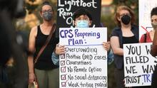 Sindicato de Maestros de Chicago acusa a CPS de ignorar los crecientes casos de coronavirus en las escuelas
