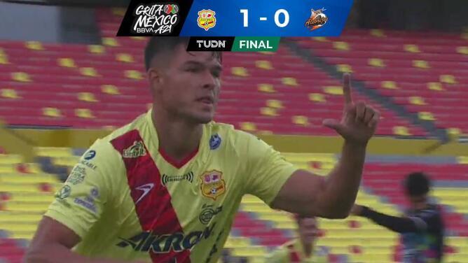 Morelia vence 1-0 a Alebrijes y asciende al segundo lugar de la tabla