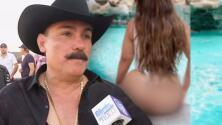 El Chapo de Sinaloa asegura que no se arrepiente de haber criticado a Chiquis y la foto de su trasero