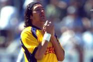 A 20 años del debut con hat-trick del 'Bam-Bam' Zamorano con América
