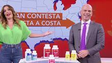 Dr. Juan comparte de costa a costa sus santos remedios para mejorar la salud de los televidentes