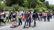 Activistas advierten que la estrategia de Biden para frenar las caravanas a EEUU no detendrá el flujo migratorio