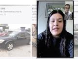 Mujer compra un auto a través de las redes sociales y después descubre que era robado