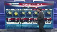 Pronóstico del tiempo para Atlanta del 31 de julio