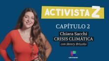 Chiara Sacchi, la hispana de 17 años que acompaña a Greta Thunberg en la lucha contra el cambio climático