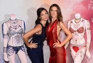 Adriana Lima y Alessandra Ambrosio son las mujeres del millón de dólares
