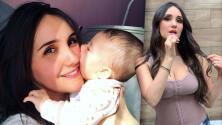 """""""Me ayuda mucho"""": Dulce María revela el secreto que usa para recuperar su figura tras su embarazo"""