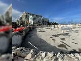 Así está la zona cero en donde se derrumbó el edificio Champlain Towers en Surfside