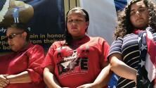Indocumentada y en huelga de hambre por los niños separados de la frontera