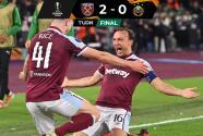 Resumen | West Ham sentencia al Rapid Viena con problemas en la tribuna