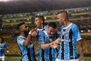 Gremio goleó al Barcelona y tiene un pie en la final de la Copa Libertadores