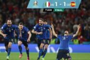 Italia se impone en penales y disputará el título de la Euro