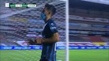 ¡GOL!  anota para Querétaro. José Gurrola