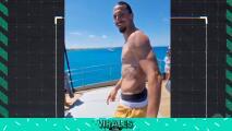 El impresionante clavado del sueco Zlatan Ibrahimovic