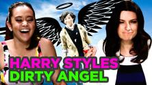 Why is Harry Styles a dirty angel for Laura Pausini?