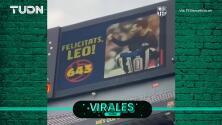 Lionel Messi igualó récord de Pelé y así lo celebró el Camp Nou.