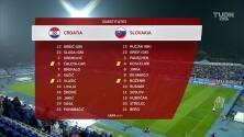 Resumen del partido Croacia vs Eslovaquia