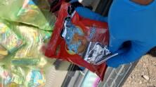 Utilizan dulces y papas fritas para esconder cargamento de fentanilo
