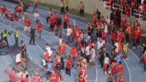 Afición de equipo de Osorio invade cancha por malos resultados
