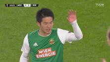 ¡La cuarta fue la vencida! Kitagawa descuenta para el Rapid Viena